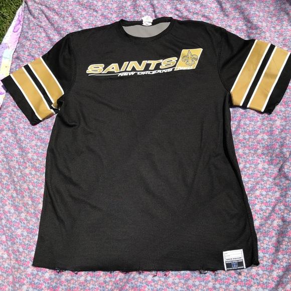 new product 1e17a c629f 🎩 New Orleans Saints NFL Team Apparel NFC Shirt